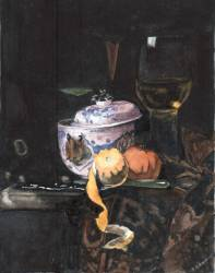 Original / Unicate - Willem Kalf Kopie - by Padrenardo