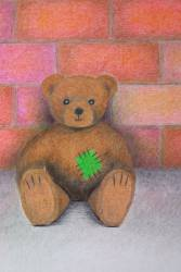 Art Print - Poster - Teddy 03 - by Sabrina Cercelovic